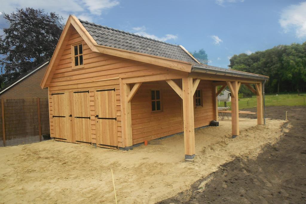 Houtbouw Garage Schuur : Houten schuur bouwen: op maat gemaakt hout & bouw wereld